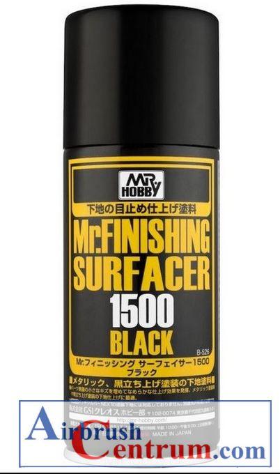 Mr. Finishing Surfacer Acer 1500 Black, 170 ml