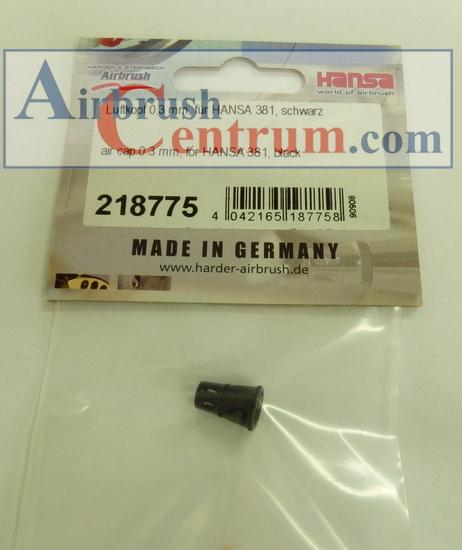 218775 Difuzor 0,3 mm černý