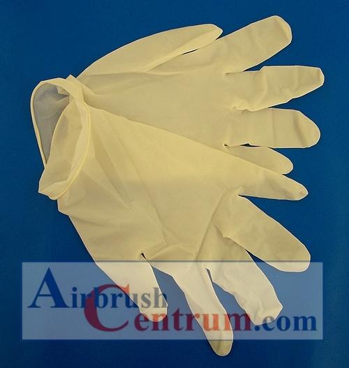 Latexové rukavice  S