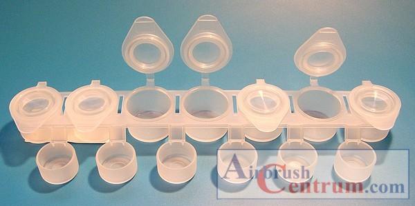 Plastové kelímky 6 ml