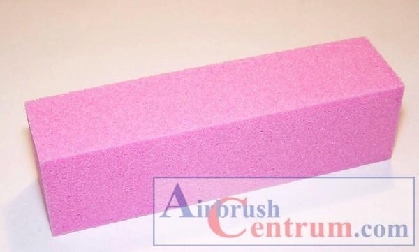 Brusný blok růžový
