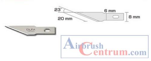 Čepelka pro skalpel AK-4 -rovná