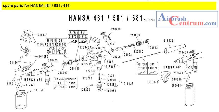 Hansa 581-3