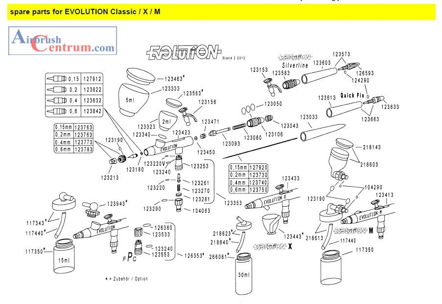 123773 Difuzor pro trysku 0,4 mm-1