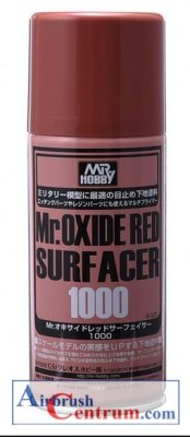 Mr. Oxide Red Surfacer 1000, 170 ml