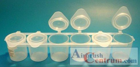 Plastové kelímky 25 ml