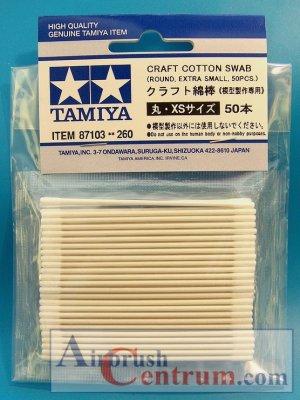 Vatové tyčinky Tamiya kulaté extra malé